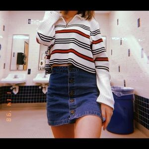 Cropped Tommy Hilfiger Sweater!!!
